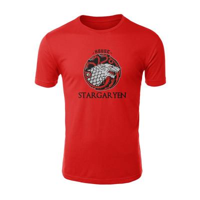 تی شرت آستین کوتاه مردانه طرح STARGARYEN کد 26