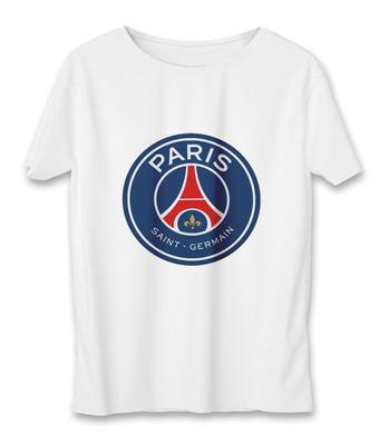 تصویر تی شرت زنانه به رسم طرح پاری سن ژرمن کد 5521