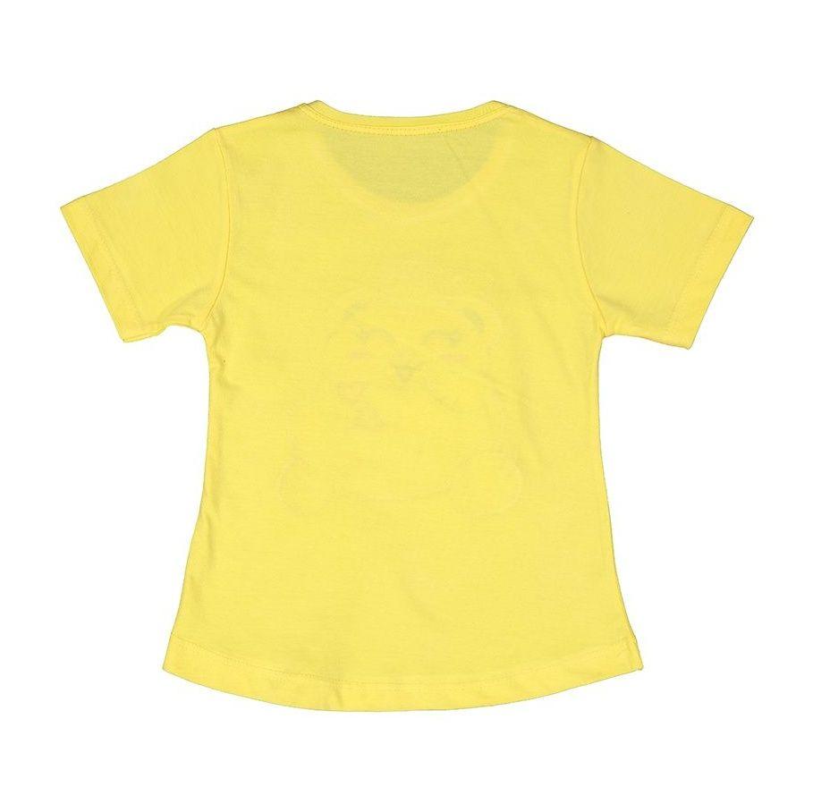 ست تی شرت و شلوار دخترانه کد 76