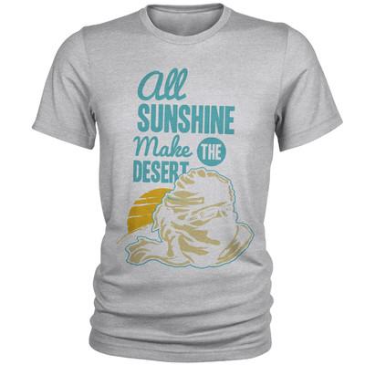 تصویر تی شرت مردانه مدل SunShine کد A172