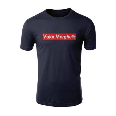 Photo of تی شرت آستین کوتاه مردانه طرح Valar Morghulis کد 21