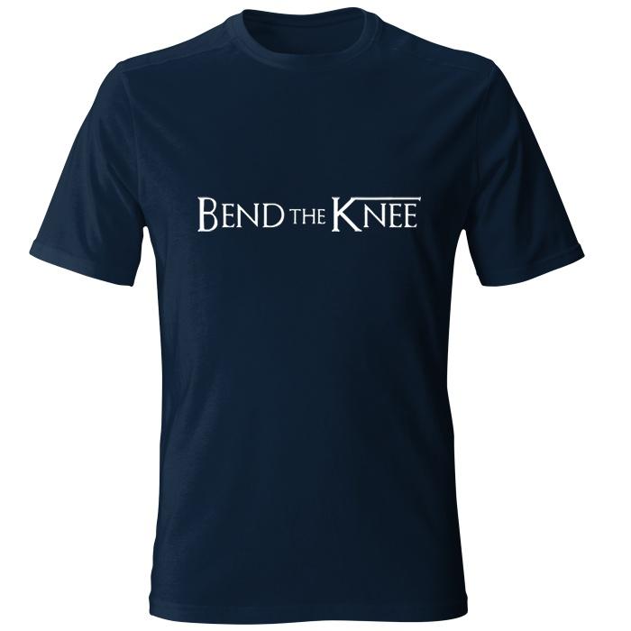 تی شرت مردانه طرح Bend The Knee کد 22
