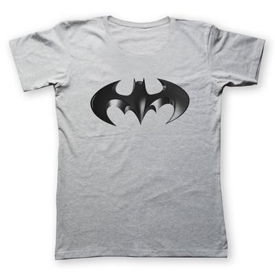 تی شرت زنانه به رسم طرح بتمن کد 4427