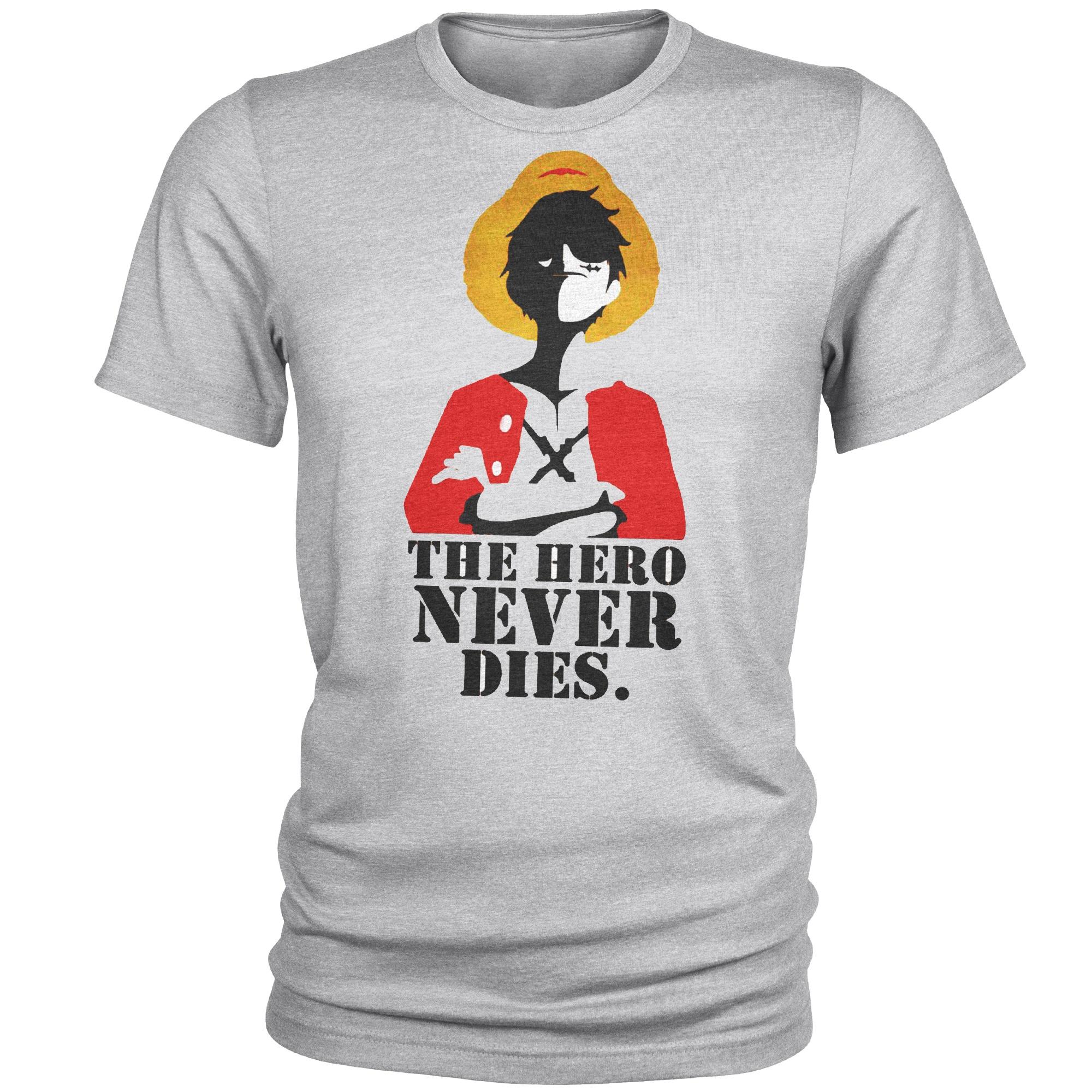 تی شرت مردانه مدل hero کد B37