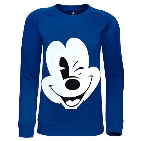 سویشرت پسرانه ساروک مدل Mickey Mouse رنگ آبی