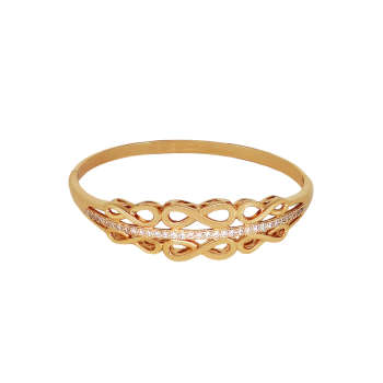 دستبند زنانه ژوپینگ طرح بینهایت کد B57