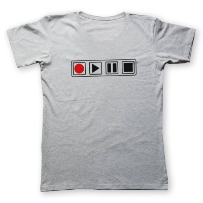 تی شرت زنانه به رسم طرح کنترل کد 4436