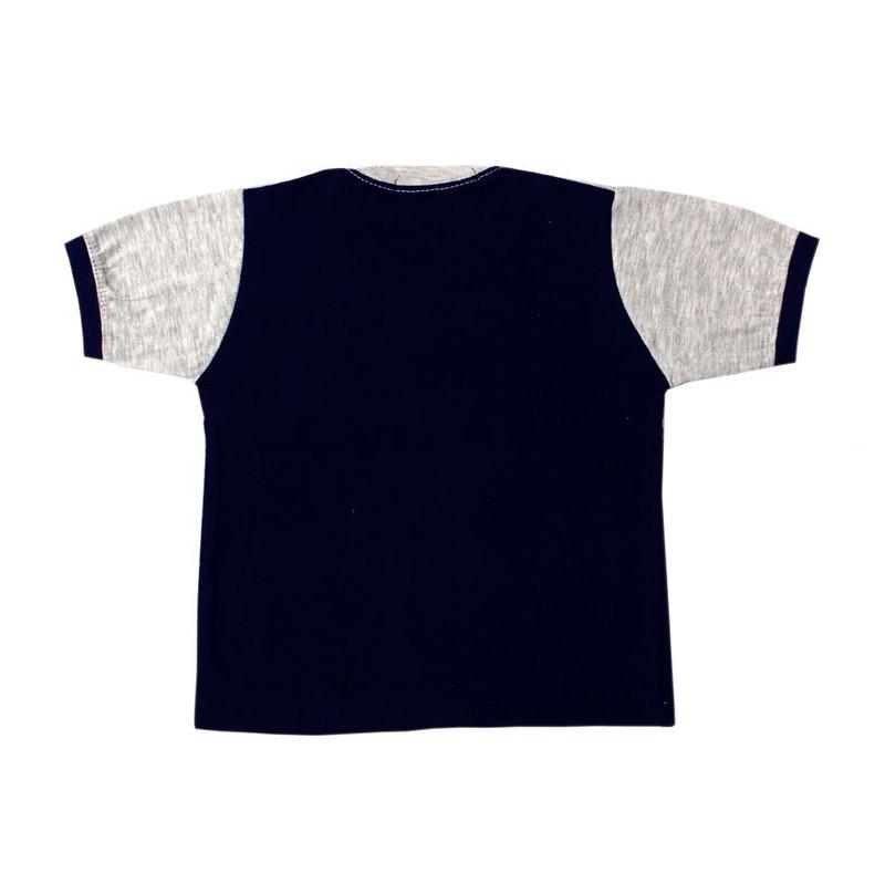 ست تی شرت و شلوارک پسرانه کد 4-380041