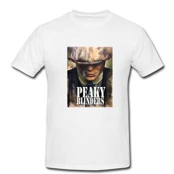 تیشرت مردانه طرح پیکی بلاندرز - peaky blinders کد 0097