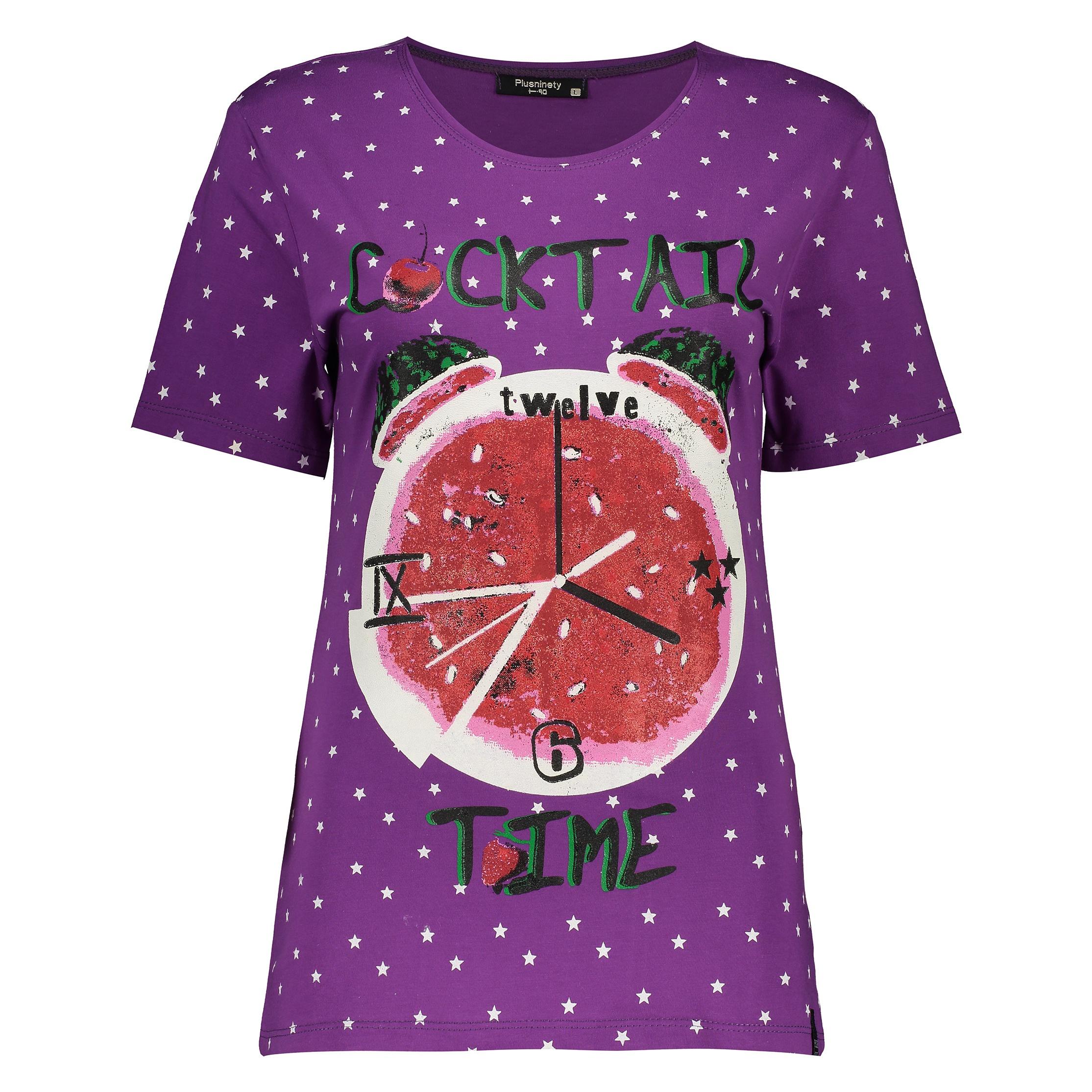 تی شرت زنانه پلاس ناینتی کد 19