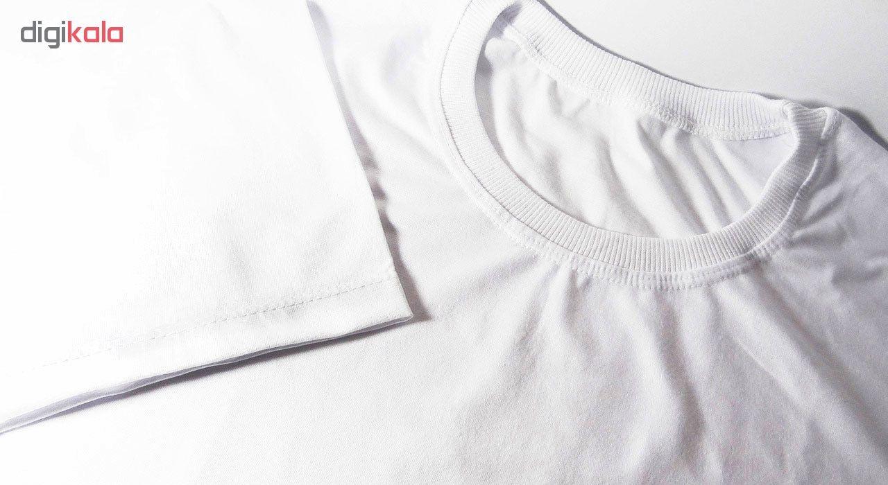 تی شرت مردانه طرح مارشملو  کد 17257 main 1 4