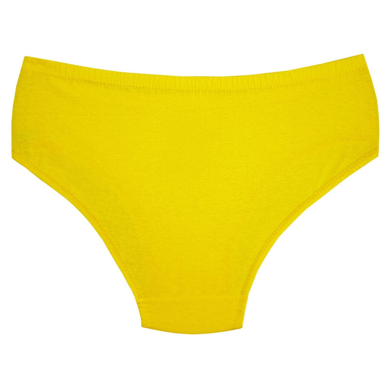 شورت زنانه کد 3062-9 رنگ لیمویی main 1 2