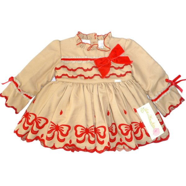 پیراهن دخترانه لاآماپولا مدل BEATRIZ V.V
