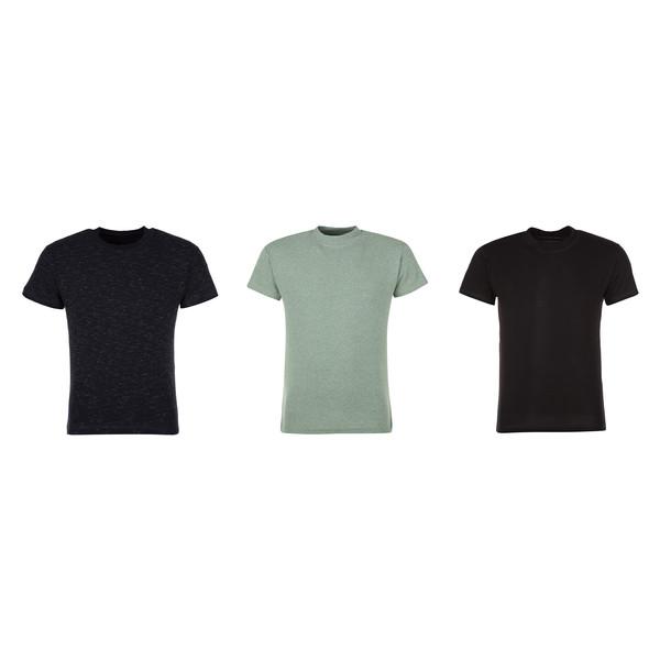 تی شرت مردانه لاکو مدل 1551133-MC بسته 3 عددی