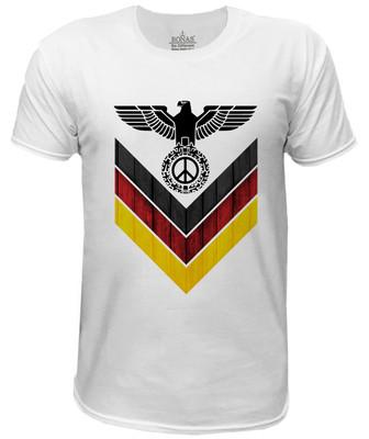 تیشرت مردانه روناس طرح صلح آلمان کد 7