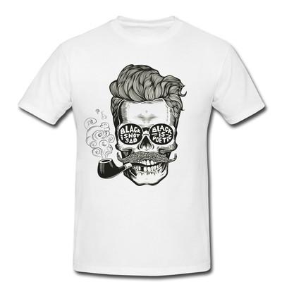 تصویر تیشرت مردانه طرح اسکلت کد 0167