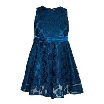 پیراهن دخترانه کد 110 رنگ آبی