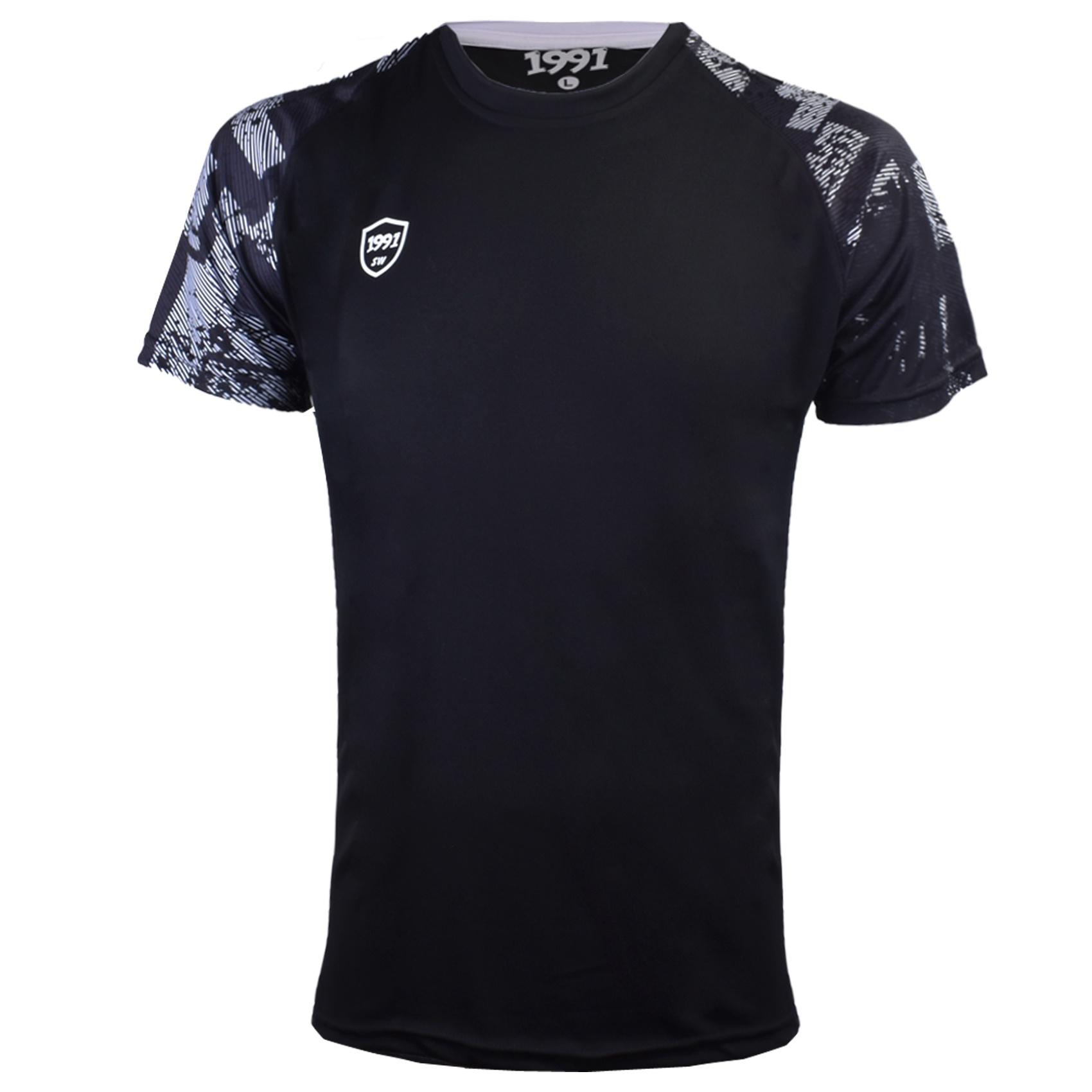 تی شرت ورزشی مردانه 1991 اس دبلیو مدل TS1931 BW