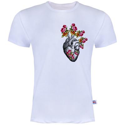 تصویر تیشرت مردانه آکو طرح قلب کد BS03