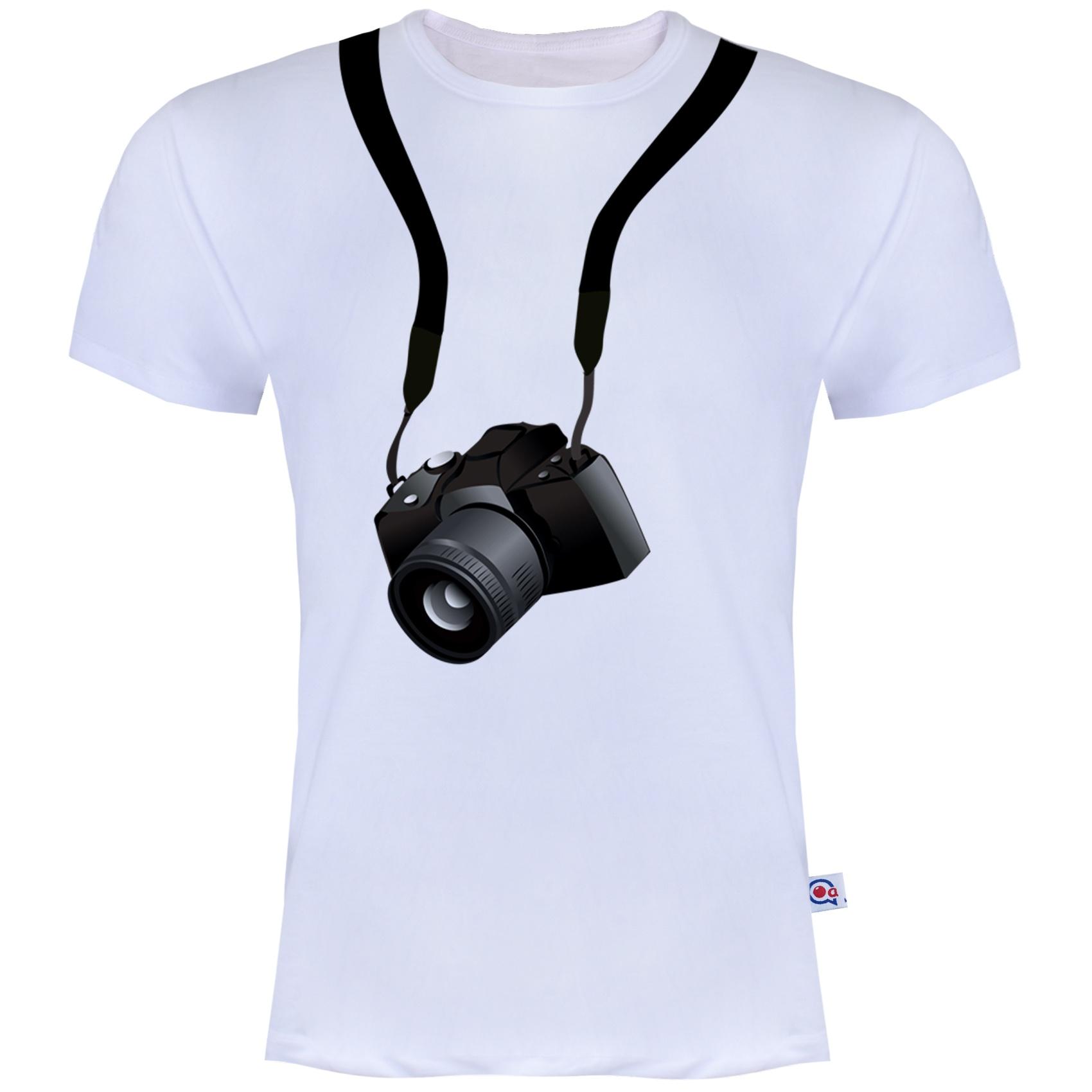 Photo of تیشرت مردانه آکو طرح دوربین کد BS12