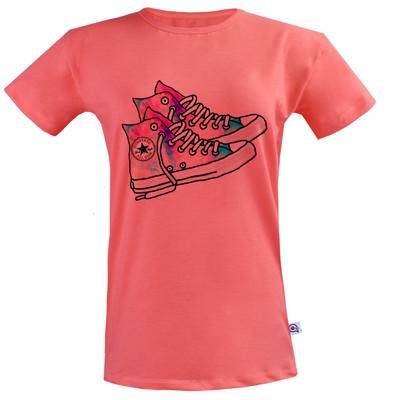 تی شرت زنانه آکو طرح کتونی کد BG80
