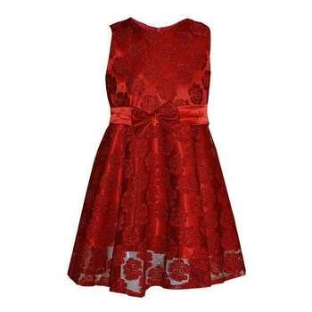پیراهن دخترانه کد 110 رنگ قرمز