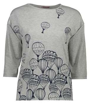 تی شرت زنانه افراتین طرح بالون کد 7505/1