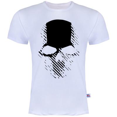 تصویر تیشرت آستین کوتاه مردانه آکو طرح اسکلت کد AS15