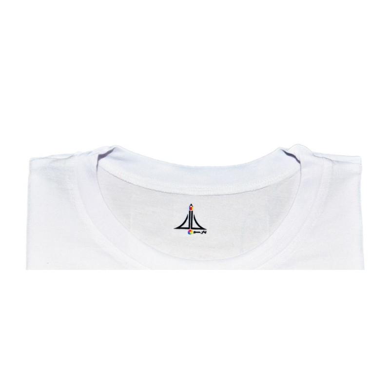 تی شرت دخترانه به رسم طرح گربه کد 9902