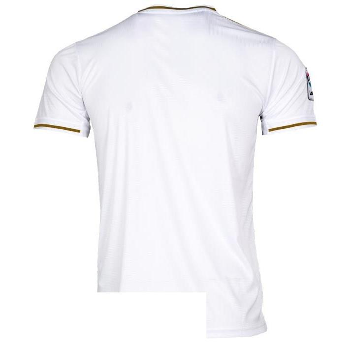 تیشرت ورزشی مردانه طرح رئال مادرید کد 1920 رنگ سفید