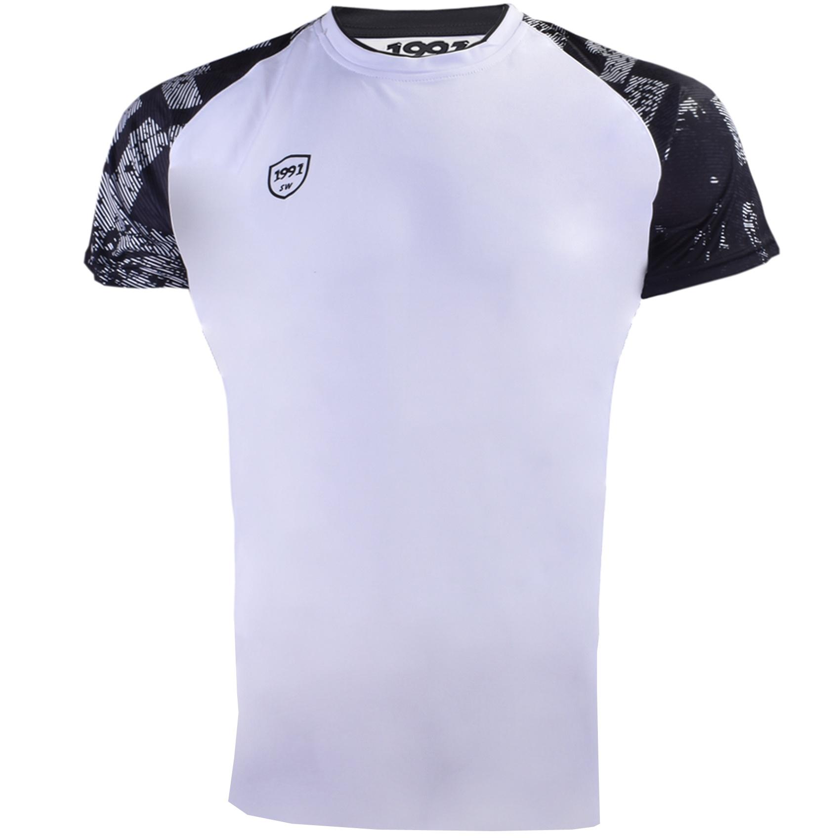 تصویر تی شرت ورزشی مردانه 1991 اس دبلیو مدل TS1931 WB