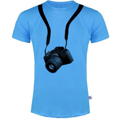 تصویر تیشرت مردانه آکو طرح دوربین کد BA12