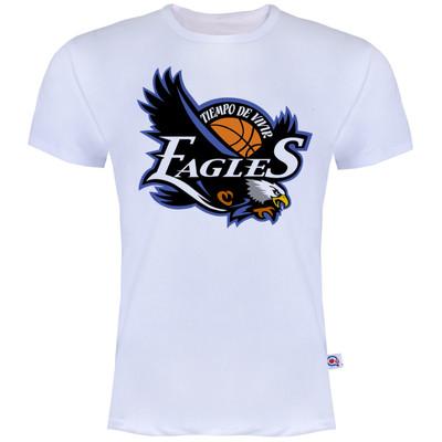 تصویر تیشرت آستین کوتاه مردانه آکو طرح Eagles کد AS37