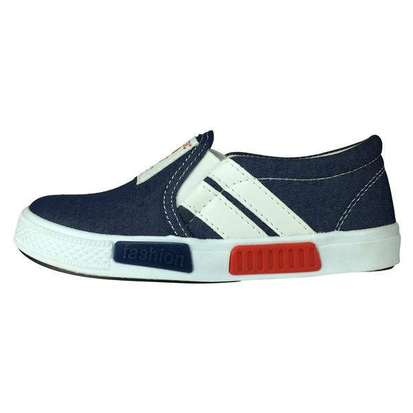 کفش پسرانه پاریس جامه مدل B530 رنگ آبی