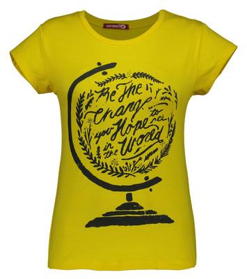 Photo of تی شرت زنانه افراتین کد 2540 رنگ زرد