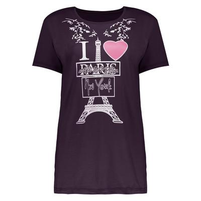 تی شرت زنانه طرح پاریس کد 510