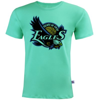 تصویر تیشرت آستین کوتاه مردانه آکو طرح Eagles کد AC37