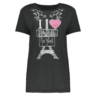 تی شرت زنانه طرح پاریس کد 511