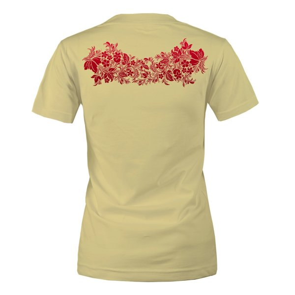 تی شرت زنانه مسترمانی طرح گل کد 1479