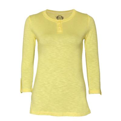 تیشرت زنانه ویستور کد 575-10 رنگ زرد