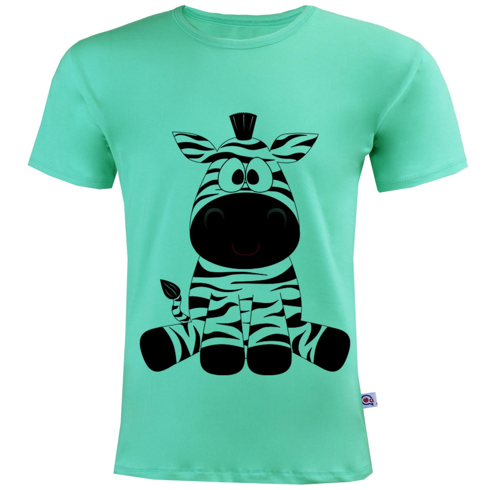 Photo of تی شرت مردانه آکو طرح گورخر کد SC46