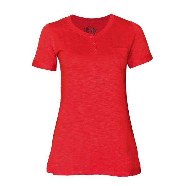 تیشرت زنانه ویسترو کد 576-7 رنگ قرمز