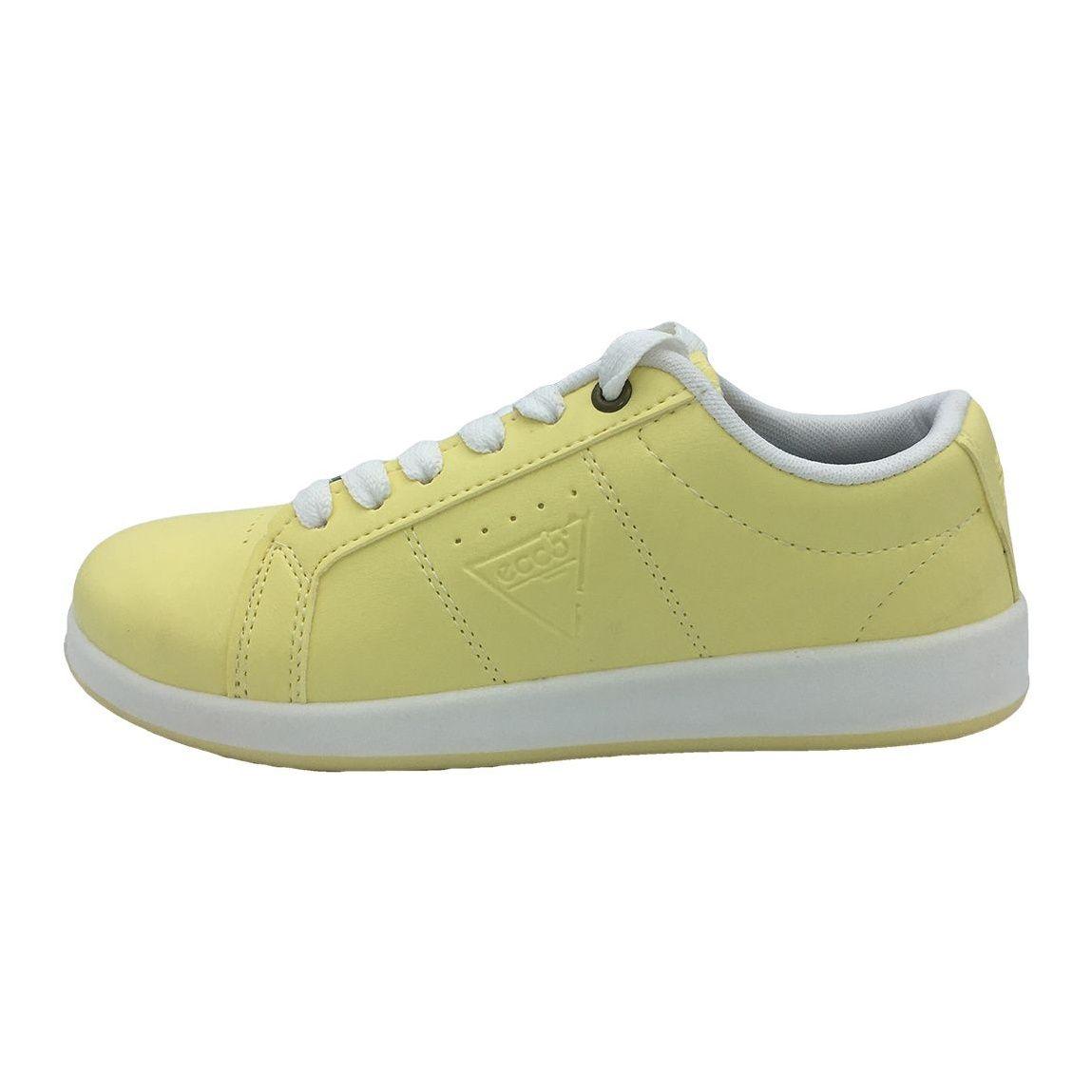 کفش مخصوص پیاده روی دخترانه مدل VA-n رنگ لیمویی main 1 1