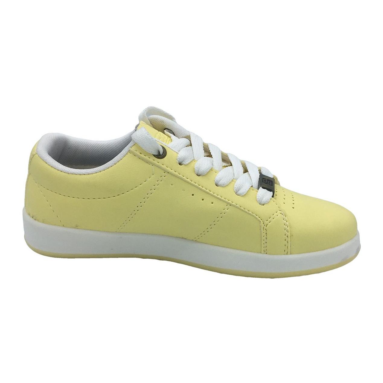 کفش مخصوص پیاده روی دخترانه مدل VA-n رنگ لیمویی main 1 2