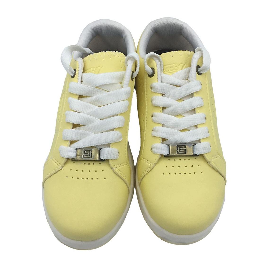 کفش مخصوص پیاده روی دخترانه مدل VA-n رنگ لیمویی main 1 3