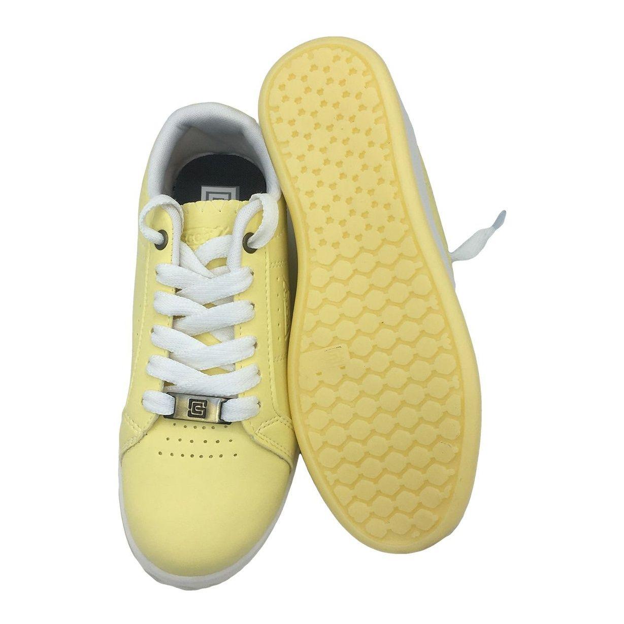 کفش مخصوص پیاده روی دخترانه مدل VA-n رنگ لیمویی main 1 4