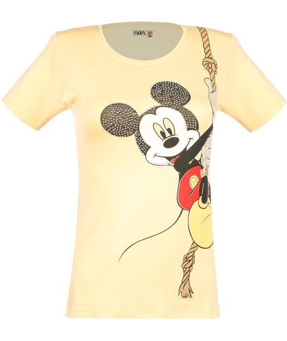 تی شرت نه ناندو استایل طرح میکی موس کد NS34