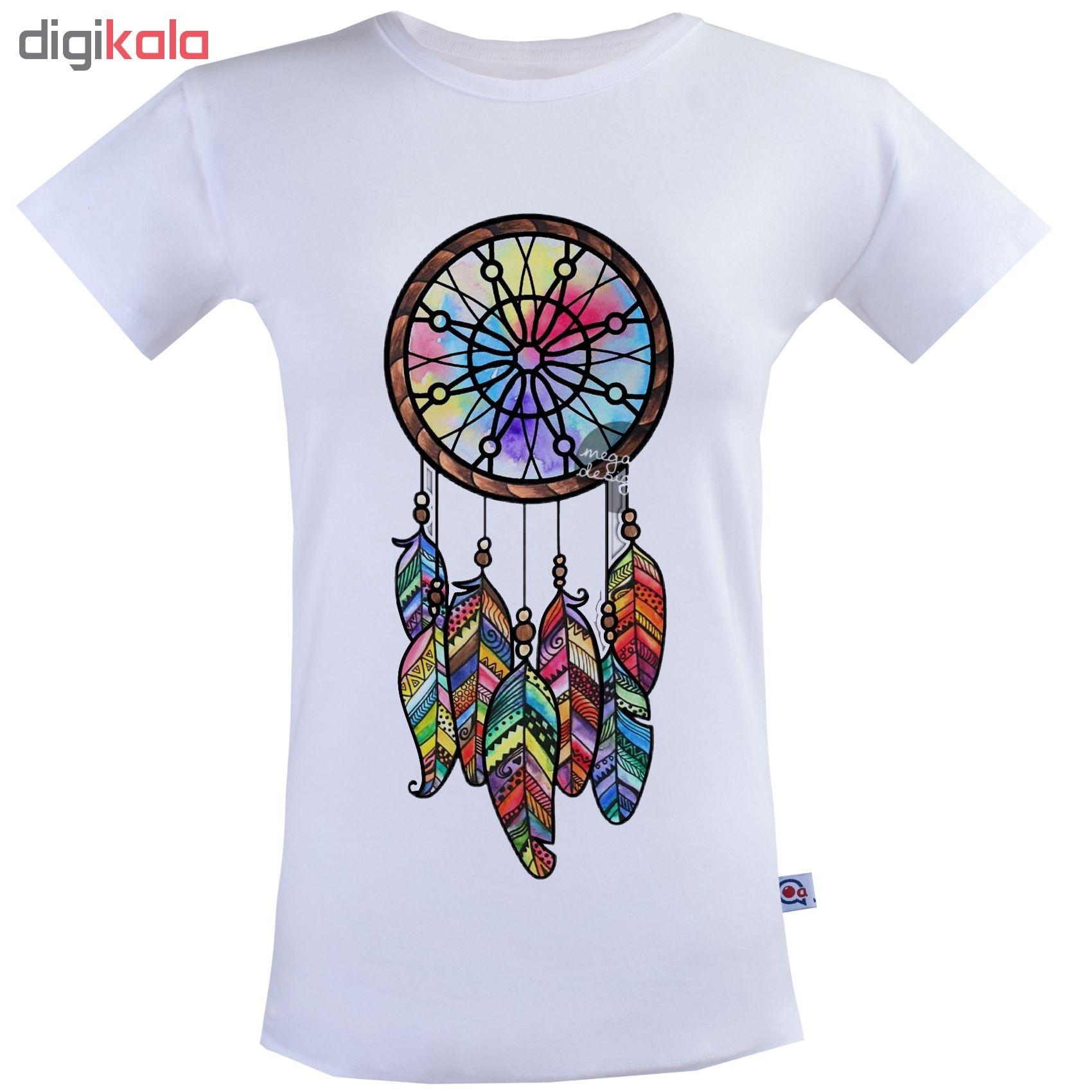 تی شرت زنانه آکو طرح دریم کچر کد SS97 main 1 1