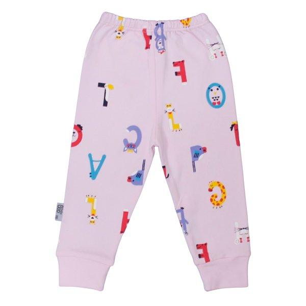 شلوار نوزاد بیبی بو طرح alphabet
