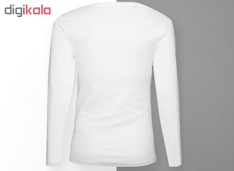 تی شرت آستین بلند مردانه آکو طرح رئال مادرید کد SS18 main 1 3